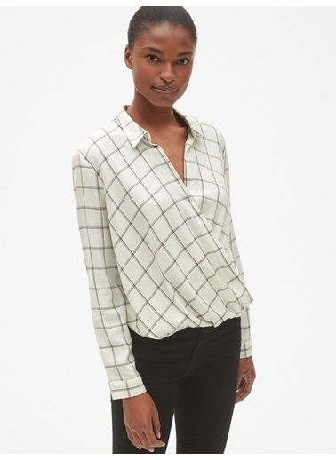 Gap Bluz Beyaz